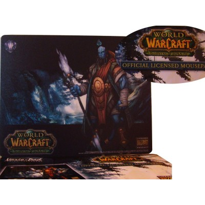 Tapis de Souris WOW Warcraft Draenei illustration Officielle Blizzard Entertainment Haute Qualité