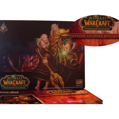 Tapis Souris Warcraft Elfe de Sang WOW illustration Officielle Blizzard Haute Qualité