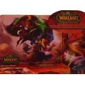 Tapis Souris WOW Warcraft PVP Duel Elfe de Sang et Draenei Blizzard Haute Qualité