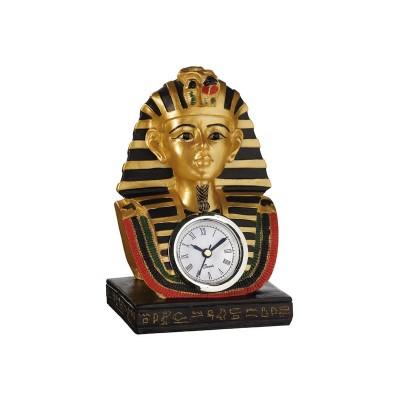 Horloge Égypte Pharaon Or et Noir Montre Égyptienne Antiquité Mythologie