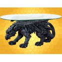 Table Basse Gothique Dragon la Bête qui Marche Tables Salon Dragons :    Table Basse Gothique Dragon la Bête qui Marche Tables Salon Dragons DRA245.   Un Dragon massif qui marche à quatre pattes...