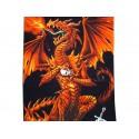 Drap de Bain Dragon Fury Alchemy Gothic Serviette de Plage Fantasy Gothique