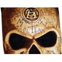 Drap de Bain Omega Skull Alchemy Gothic Serviette de Plage Fantasy Crâne Squelette