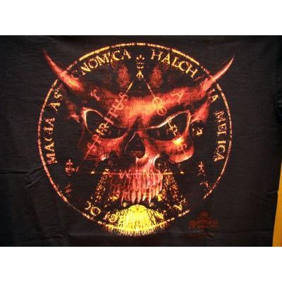 T Shirt Sixth Seal Tee Shirts Alchemy Gothic Le Sixième Sceau Fantasy Gothique