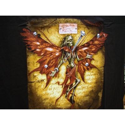 T Shirt Volucris Dryas Tee Shirts Alchemy Gothic Squelette Fée Épinglée Gothique