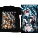 T Shirt VISIONS Tee Shirts LUIS ROYO Fantasy Redoutable Guerrière Sexy