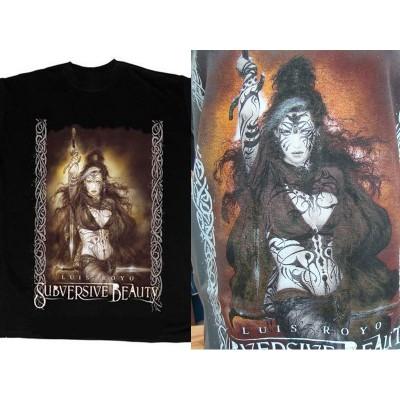 T Shirt Reine Vaudou Tee Shirts LUIS ROYO Fantasy Beauté Subversive