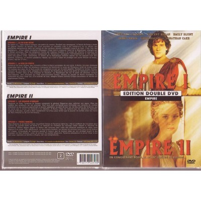 EMPIRE I & II  DVD Double Série avec Greg Yaitanes John Gray Kim Manners