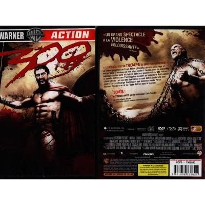 300 Trois Cent DVD Film Peplum Léonidas Bataille des Thermopyles Spartiates Perses Xerxès