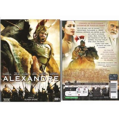 Alexandre DVD Film Peplum Oliver Stone Colin Farrell Angelina Jolie Val Kilme
