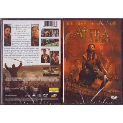 ATTILA LE HUN DVD Film Dick Lowry Powers Boothe Gerards Butler Tim Currry