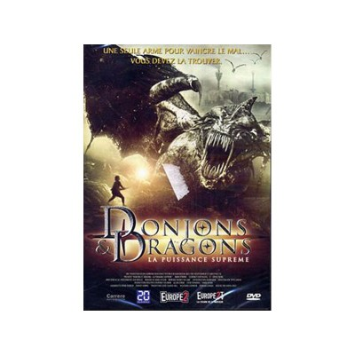 Donjons & Dragons II DVD Film La Puissance Suprème Gerry Lively Mark Dymond Bruce Payne
