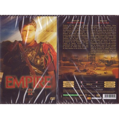 EMPIRE II DVD Série Peplum Greg Yaitanes John Gray Kim Manners Santiago Cabrera