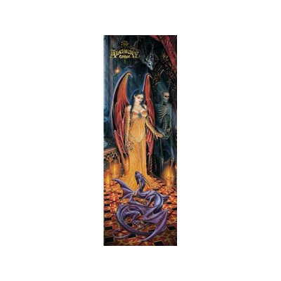 Poster Witness to Rites Alchemy Gothic Posters Papier Succube Dragon et Squelette