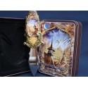 Poignard Fantasy Merlin Couteau Décoratif avec Boite illustrée Magicien