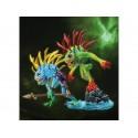 Murloc Fish-Eye & Gibbergill Figurines Warcraft Articulée Deux Créatures Nagas WOW