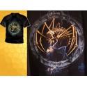 T Shirt DARK CATHARSIS Tee Shirts Alchemy Gothic Brunes et Monstre Araignée Squelette