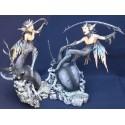 Figurine Scarabée et Lutin Staghorn Statuette Fantasy Alchemy Gothic Farfadet