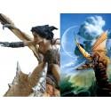 The Sentinel Dragon Figurine Chris ACHILLEOS Grande Statuette Fantasy la SENTINELLE