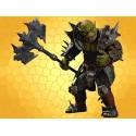Figurine Genlock Dragon Age Statuette Articulée Gobelin Rage de Berserker