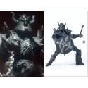 Figurine Spawn BloodAxe Statuette Articulée Guerrier Bouclier Masse Fléau