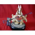Statuette Magic The Gathering Eight and Half Tails Mana Blanc Champions of Kamigawa