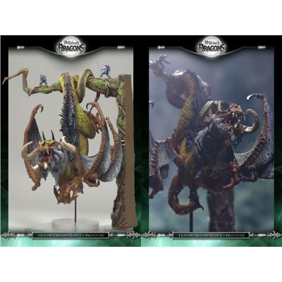 HUNTER Dragon Clan Figurine Série 8 Statuette Dragons CHASSEUR Articulés Mac Farlane