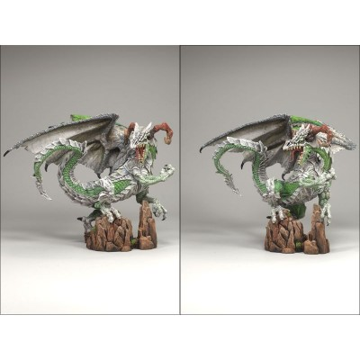 Warrior Dragon Clan Série 7 Figurine Dragons Guerrier Statuette Articulée Mac Farlane