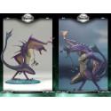 WATER Dragon Clan Série 8 Figurine Dragons Aquatique Statuette Articulée Mac Farlane