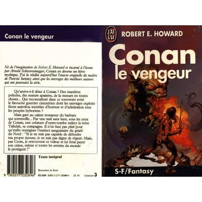 Conan le Vengeur Roman Heroic Fantasy de Robert E Howard