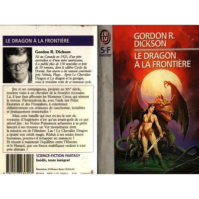Le Dragon à la Frontière Roman Heroic Fantasy de Gordon R DICKSON