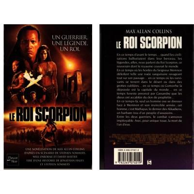 Le Roi Scorpion Roman Fantasy Péplum Antiquité Égypte de Max Allan COLLINS