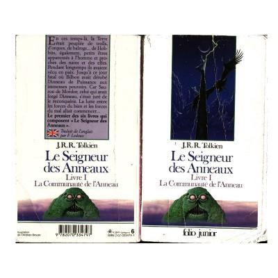 Le Seigneur des Anneaux Junior Tome 1/6 Roman La Communauté de l'ANNEAU