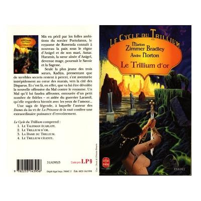 Le TRILLIUM D'OR Roman Heroic Fantasy de Marion Zimmer BRADLEY