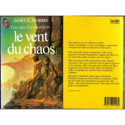 Le Vent du Chaos Roman Heroic Fantasy de Janet E. MORRIS