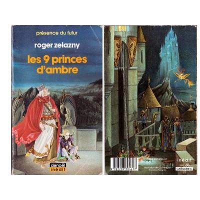 Les 9 PRINCES D'AMBRE Roman Fantasy de Roger ZELAZNY