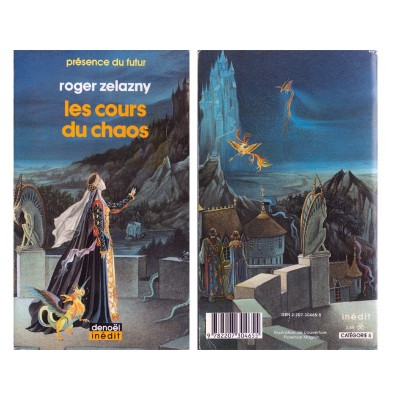 les cours du chaos roman fantasy de roger zelazny anticae. Black Bedroom Furniture Sets. Home Design Ideas