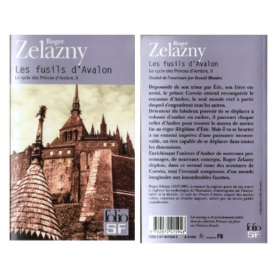 Les FUSILS D'AVALON Roman Science Fiction Fantasy de Roger ZELAZNY