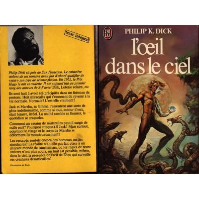 L'OEIL DANS LE CIEL Roman Science Fiction de Philip K. DICK