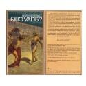 QUO VADIS ? Roman de Henryk Sienkiewicz Péplum Antiquité Romaine