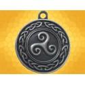 Pendentif Celtique Triskell Noeuds Celtiques Étain Bijou Celte