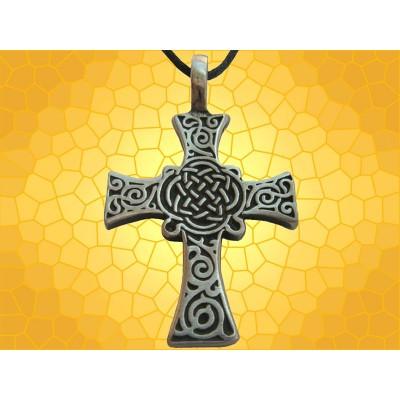 Pendentif Celte Collier Rose-Croix Celtique Bijou Celtik Jewel