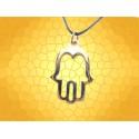 Pendentif Main de Fatma Dorée Bijou Religieux Symbolique