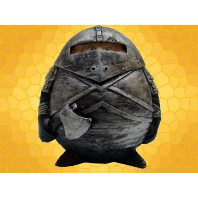 Booble Head Figurine Chevalier Marrant en Armure et Hache
