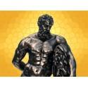 Statuette Hercule Héros Légendaire Grèce Antique Mythologie Légende Homère