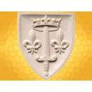 Blason Médiéval Jeanne d Arc Plaque Murale LYS Blasons Historiques