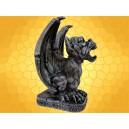 Gargouilles Figurine Gothique en Résine Statuette Gargouille Hurlante Ailée