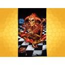 Drap de Bain Fools Familiar Alchemy Gothic Serviette de Plage Fantasy Joker Macabre