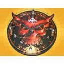Horloge Alchemy Gothic Démon Rouge Montre Gothique Diable Fantasy