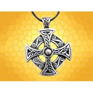 Pendentif Celtique Bijou Légende Croix Celte Collier Celtik